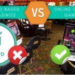 Gamblers Prefer Online Casino Games To Land Based Casinos